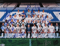 2005 Real Madrid 11x14 Photo Team-Signed by (35) with Ronaldo, Zinedine Zidane, Michael Owen, Luis Figo, Michael Salgado, Raul Bravo, Diego Lopez (Beckett LOA) at PristineAuction.com