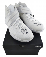 Pair of (2) D'Angelo Russell Signed Nike Shoes (JSA COA & Russell Hologram) at PristineAuction.com