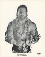 Hercules Signed 8x10 Photo (PSA COA) at PristineAuction.com