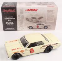 Dale Earnhardt Sr. LE #8 1st Asphalt Win 1964 Chevrolet Chevelle 1:24 Diecast Car at PristineAuction.com