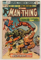 """1975 """"The Man-Thing"""" Vol. 1 Issue #20 Marvel Comic Book at PristineAuction.com"""