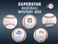 Schwartz Sports Baseball Star Signed MLB Baseball Mystery Box - Series 5 (Limited to 100) at PristineAuction.com