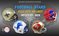 Schwartz Sports Helmet Featured Auction Football Star Signed Full Size Helmet Mystery Box – (Limited to 25) at PristineAuction.com