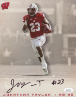 Jonathan Taylor Signed Wisconsin Badgers 8x10 Photo (JSA COA) at PristineAuction.com