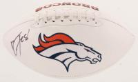 Royce Freeman Signed Broncos Logo Football (JSA COA) at PristineAuction.com