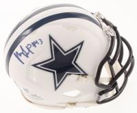 Michael Gallup Signed Cowboys Matte White Speed Mini-Helmet (TriStar Hologram) at PristineAuction.com
