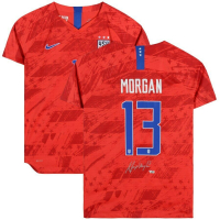 Alex Morgan Signed Team USA Jersey (Fanatics Hologram) at PristineAuction.com