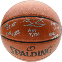 Dwyane Wade Signed LE Spalding Basketball with Multiple Inscriptions (Fanatics Hologram) at PristineAuction.com