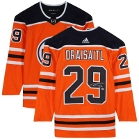 Leon Draisaitl Signed Oilers Jersey (Fanatics Hologram) at PristineAuction.com