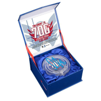 Alexander Ovechkin Signed 700th Goal Crystal Puck (Fanatics Hologram) at PristineAuction.com
