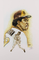 Tony Gwynn - Padres - Brian Barton 12x18 Signed Limited Edition Lithograph #/250 (PA COA) at PristineAuction.com