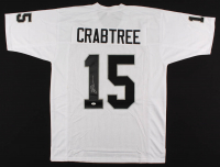 Michael Crabtree Signed Jersey (JSA COA) at PristineAuction.com