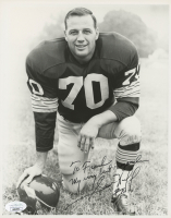 """Sam Huff Signed Giants 8x10 Photo Inscribed """"My Very Best Regards"""" (JSA COA) at PristineAuction.com"""