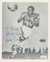 """Gale Sayers Signed Bears 8x10 Photo Inscribed """"Best Wishes"""" (JSA COA) at PristineAuction.com"""
