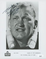 """Jim Otto Signed Raiders 8x10 Photo Inscribed """"Best Wishes to a Great Fan"""" (JSA COA) at PristineAuction.com"""