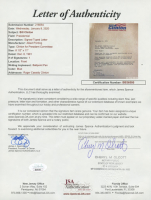 Bill Clinton Signed 1991 President Committee 9x11 Typed Letter (JSA LOA) at PristineAuction.com