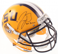 "Joe Burrow Signed LSU Tigers Full-Size Authentic On-Field Helmet Inscribed ""2019 Heisman"" (Beckett Hologram) at PristineAuction.com"