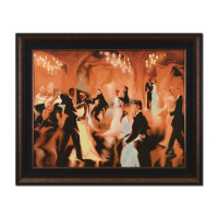 "Steve Bloom Signed ""Champagne"" Limited Edition 43x35 Custom Framed Giclee on Canvas #XXXIII/C at PristineAuction.com"