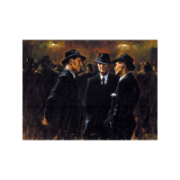 "Fabian Perez Signed ""Gathering/Las Brujas"" Hand Textured Limited Edition 20x26 Giclee on Canvas #18/75 at PristineAuction.com"