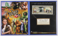 The Wizard of Oz Colorized $2 Commemorative Bank Note at PristineAuction.com