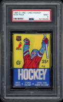 1985 O-Pee-Chee Hockey Unopened Wax Pack (PSA 9) at PristineAuction.com