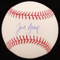 Josh Breaux Signed OML Baseball (MAB Hologram) at PristineAuction.com