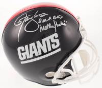 """Lawrence Taylor Signed Giants Full-Size Throwback Helmet Inscribed """"I'm A Bad Motherf***er"""" (JSA COA) at PristineAuction.com"""