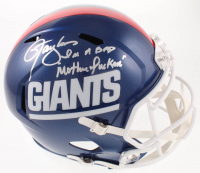 "Lawrence Taylor Signed Giants Full-Size Speed Helmet Inscribed ""I'm A Bad Motherf***er"" (JSA COA) at PristineAuction.com"