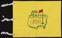 Donald Trump Signed 2016 The Masters Tournament Golf Pin Flag (PSA LOA) at PristineAuction.com