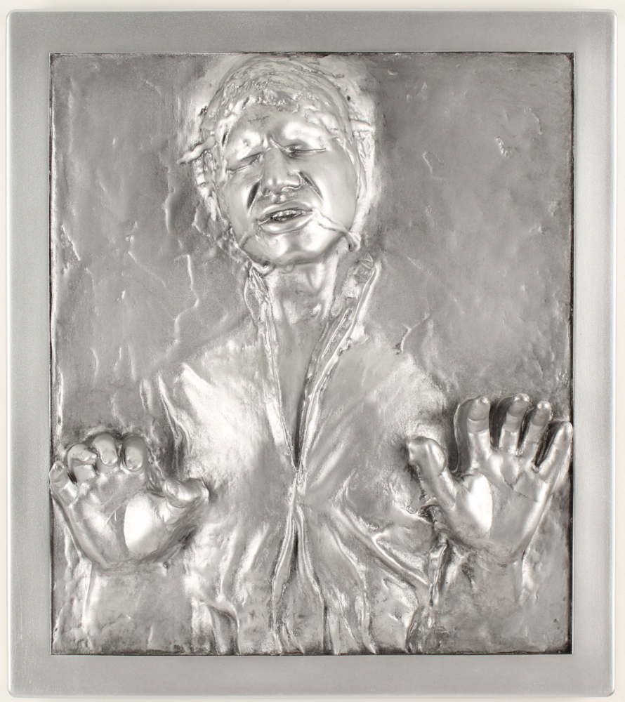 """""""Star Wars"""" Han Solo In Carbonite Wall Plaque at PristineAuction.com"""