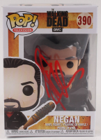 "Jeffrey Dean Morgan Signed ""The Walking Dead"" #390 Negan Funko Pop Vinyl Figure (Radtke COA) at PristineAuction.com"