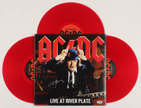 "Angus Young Signed ""AC/DC Live At River Plate"" Vinyl Album Cover (PSA COA) at PristineAuction.com"