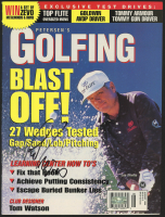 Lee Trevino Signed 1996 Petersen's Golfing Magazine (Palm Beach COA) at PristineAuction.com