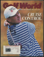 Ernie Els Signed 1997 Golf World Magazine (Palm Beach COA) at PristineAuction.com