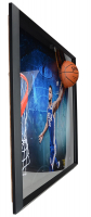 Ben Simmons Signed LE 76ers Break Through 40x52 Custom Framed Photo Display (Upper Deck COA) at PristineAuction.com