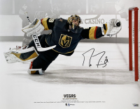 Marc-Andre Fleury Signed Golden Knights 16x20 Photo (Fanatics Hologram) at PristineAuction.com