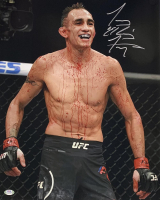 "Tony Ferguson Signed UFC 16x20 Photo Inscribed ""El Cucuy"" (PSA COA) at PristineAuction.com"