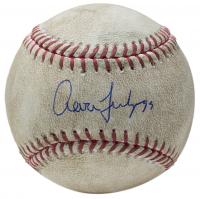 Aaron Judge Signed Game-Used OML Baseball (PSA COA, MLB Hologram & Steiner Hologram) at PristineAuction.com