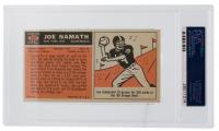 Joe Namath Signed 1965 Topps #122 SP RC (PSA Encapsulated) at PristineAuction.com