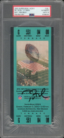 Tom Brady Signed 2002 Super Bowl XXXVI Ticket (PSA Encapsulated) at PristineAuction.com