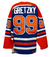 Wayne Gretzky Signed Oilers CCM Vintage Hockey Jersey (Upper Deck COA) at PristineAuction.com