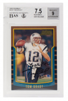 "Tom Brady Signed 2000 Bowman Chrome #236 RC Inscribed ""Your Pal"" (BAS Encapsulated) at PristineAuction.com"