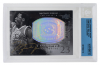Michael Jordan Signed  LE 2011-12 Exquisite Collection Bling (BGS Encapsulated) at PristineAuction.com