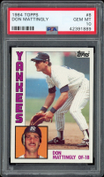 Don Mattingly 1984 Topps #8 RC (PSA 10) at PristineAuction.com