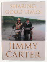 "Jimmy Carter Signed ""Sharing Good Times"" Hardcover Book (Palm Beach COA) at PristineAuction.com"