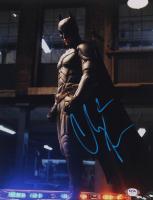 "Christian Bale Signed ""The Dark Knight Rises"" 11x14 Photo (PSA COA) at PristineAuction.com"