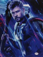 "Chris Hemsworth Signed ""Avengers"" 11x14 Photo (PSA COA) at PristineAuction.com"