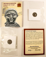Licinius II, the Younger. AD 317-324 - The House of Constantine Ancient Bronze Coin at PristineAuction.com