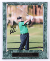 Patrick Reed Signed 10.5x13 Plaque (Palm Beach COA) at PristineAuction.com
