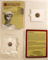 Valentinian II. AD 375-392 - Late Roman Empire: The Dominate Ancient Bronze Coin at PristineAuction.com